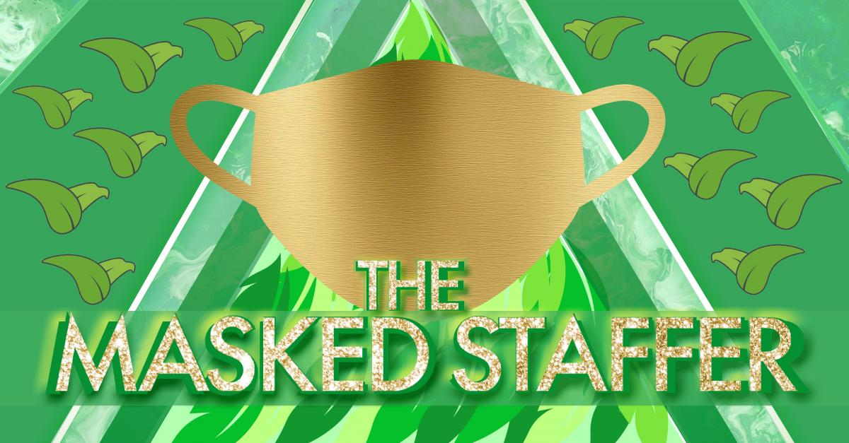 The Masked Staffer logo